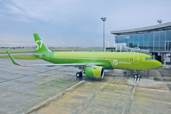 Авиакомпания сибирь s7 реклама товарный знак реклама способствует продвижнию новых товаров